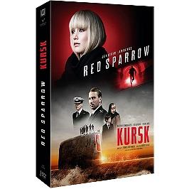 Coffret 2 films : red sparrow ; Kursk, Dvd