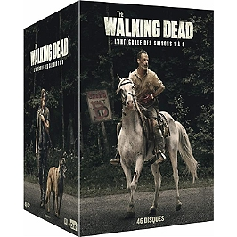 Coffret the walking dead, saisons 1 à 9, Dvd