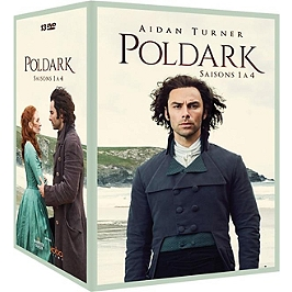 Coffret Poldark, saisons 1 à 4, Dvd
