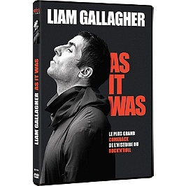 Liam Gallagher : as it was, Dvd