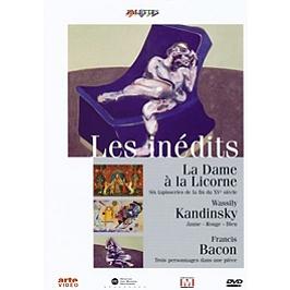 La dame à la licorne ; Kandinsky ; Francis Bacon, Dvd
