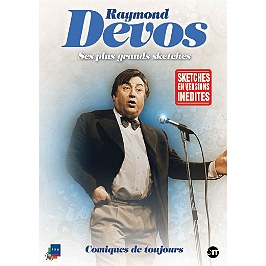 Raymond Devos : ses plus grands sketches, Dvd