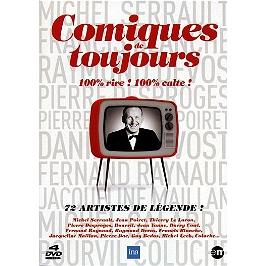 Coffret comiques de toujours , vol. 1 à 4, Dvd