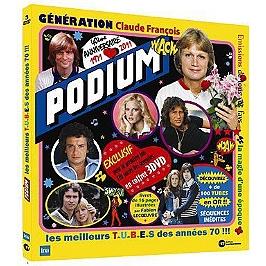 Podium, génération Claude Francois, Dvd