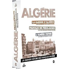 Algérie : la guerre d'Algérie ; paroles de Pieds-Noirs ; l'amère patrie, Dvd
