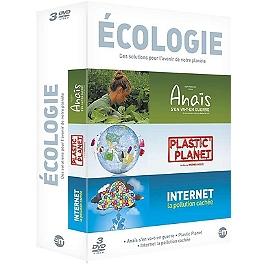 Coffret écologie 3 documentaires : Anaïs s'en va-t-en guerre ; plastic planet ; internet, la pollution cachée, Dvd