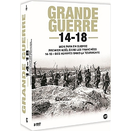 Coffret Grande Guerre 14-18 : mon papa en guerre ; premier Noël dans les tranchées ; des hommes dans la tourmente, Dvd