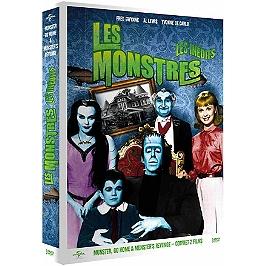 Coffret les monstres les inédits, 2 films : Munster go home ; Munster's revenge, Dvd