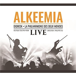 Alkeemia live, CD Digipack