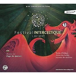 Festival interceltique 2018 année du Pays de Galles, CD