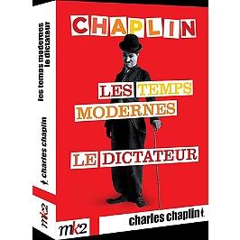 Coffret Chaplin : le dictateur ; les temps modernes, Dvd
