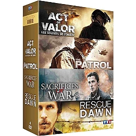 Coffret guerre 4 films, Dvd