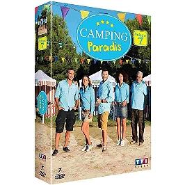 Coffret Camping Paradis, saison 7, Dvd
