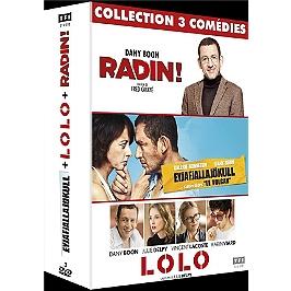 Coffret Dany Boon 3 films : Radin ; Lolo ; le volcan, Dvd