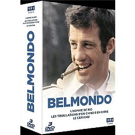 Coffret Jean-Paul Belmondo 3 films : l'homme de Rio ; les tribulations d'un Chinois en Chine : le cerveau, Dvd