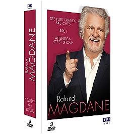 Coffret Roland Magdane 3 spectacles : ses plus grands sketches ; attention c'est show ; rire, Dvd