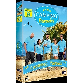 Coffret camping paradis, vol. 8, Dvd