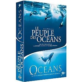 Lcoffret Jacques Perrin 2 films : le peuple des océans ; océans, Dvd