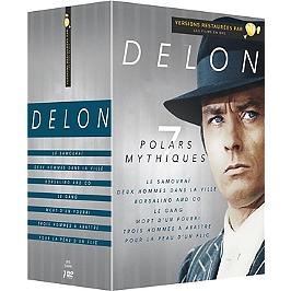 Coffret Delon 7 films, Dvd