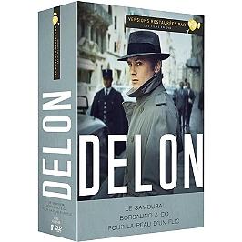 Coffret Alain Delon 3 films : le samouraï ; Borsalino et co ; pour la peau d'un flic, Dvd