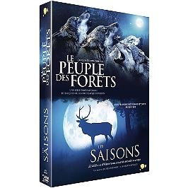 Coffret Jacques Perrin 2 films : le peuple des forêts ; les saisons, Dvd