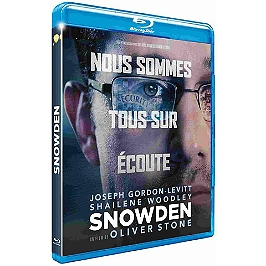 Snowden, Blu-ray