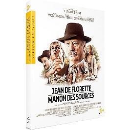 Coffret Marcel Pagnol 2 films : Jean de Florette ; Manon des sources, Blu-ray