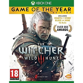 The witcher 3 : wild hunt - édition GOTY (XBOXONE)