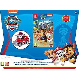 Pack pat patrouille + mini fire cart marshall (SWITCH)