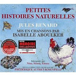 Petite histoire naturelle Jules Renard mis en chansons