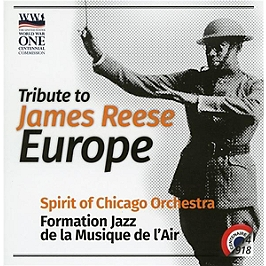 Tribute to James Reese Europe, CD