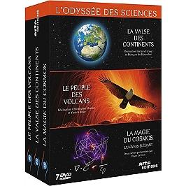 Coffret l'odyssée des sciences, Dvd