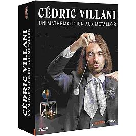Coffret Cédric Villani : un mathématicien aux Métallos, Dvd