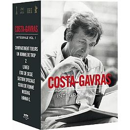 Coffret Costa-Gavras, vol. 1 : 1965 à 1983, 9 films, Dvd