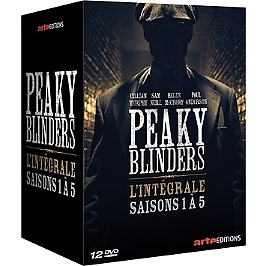 Coffret peaky blinders, saisons 1 à 5, Dvd