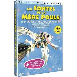 Les contes de la mère poule : le poisson arc-en-ciel ; Shangoul et Mangoul ; Lili Hosak, Dvd