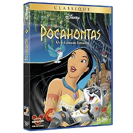 Pocahontas, une légende indienne, Dvd
