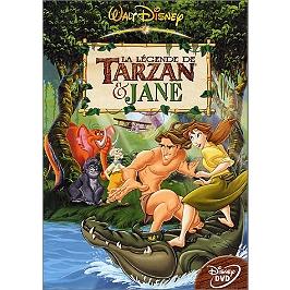 La légende de Tarzan et Jane, Dvd