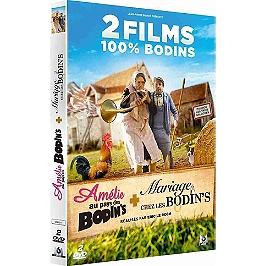 Coffret 2 films 100% Bodin's : Amélie au pays des Bodin's ; mariage chez les Bodin's, Dvd