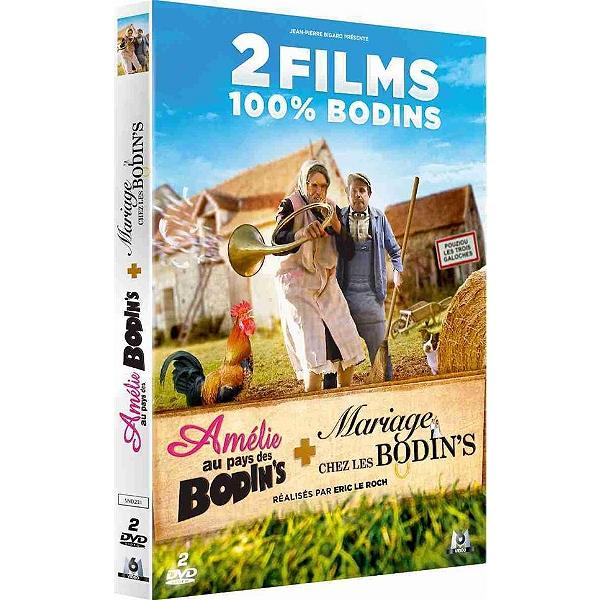 Dvd - Coffret 2 films 100% Bodin s   Amélie au pays des Bodin s ... b5a61d2c50e