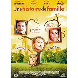 Une histoire de famille, Dvd