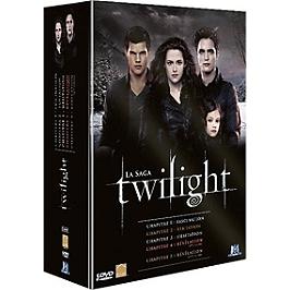Coffret intégrale twilight : chapitres 1 à 5, Dvd