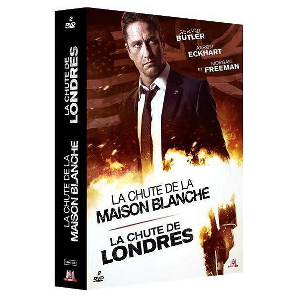 Dvd Coffret La Chute 2 Films La Chute De Londres La Chute De La Maison Blanche Espace Culturel E Leclerc