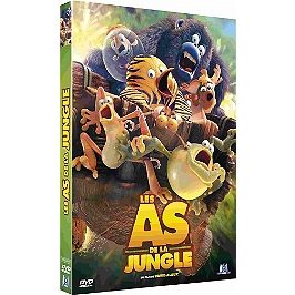 Les as de la jungle, le film, Dvd