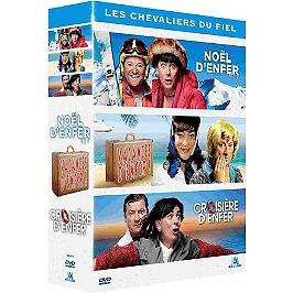 Coffret les Chevaliers du Fiel 3 spectacles : Noël d'enfer ; vacances d'enfer ! ; croisière d'enfer, Dvd