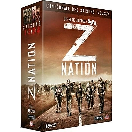 Coffret z nation, saisons 1 à 4, Dvd