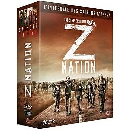 Coffret z nation, saisons 1 à 4, Blu-ray