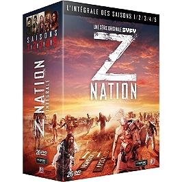 Coffret z nation, saisons 1 à 5, Dvd