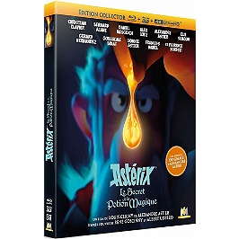 Astérix : le secret de la potion magique, édition collector, Blu-ray 4K