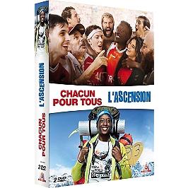 Coffret Ahmed Sylla 2 films : chacun pour tous ; l'ascension, Dvd